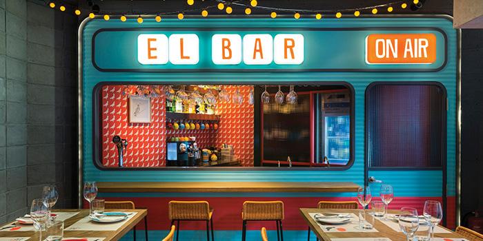 Bar Area, La Paloma, Sai Ying Pun, Hong Kong