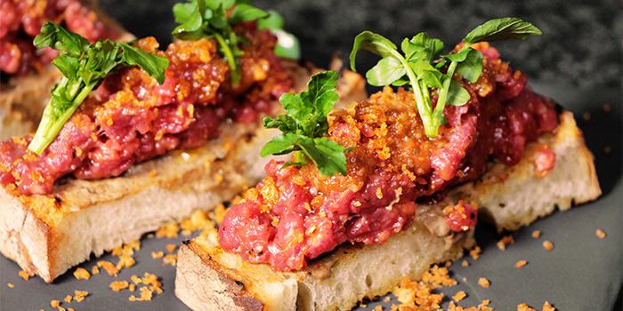 Beef Tartare, Bungalow, Lan Kwai Fong, Hong Kong