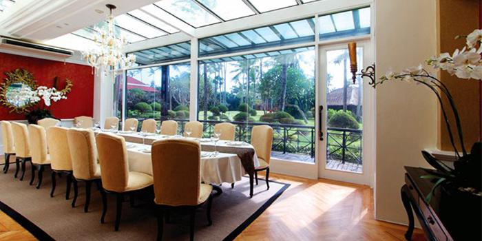 Private Dining Area of Bella Cucina in Jimbaran, Bali