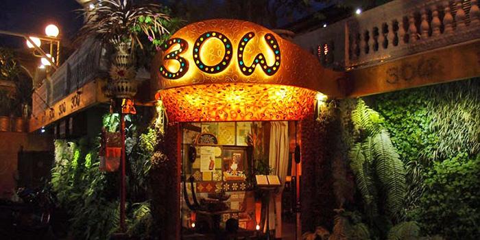 Exterior of BOW Bali in Kerobokan, Bali