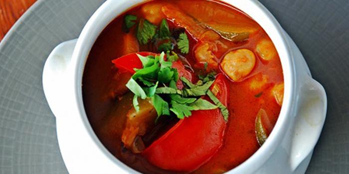 Soup from BOW Bali in Kerobokan, Bali