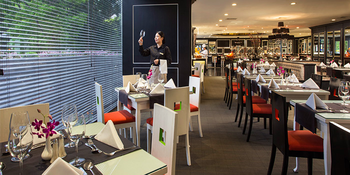 Interior of Spices Cafe in Concorde Hotel Singapore in Orchard, Singapore