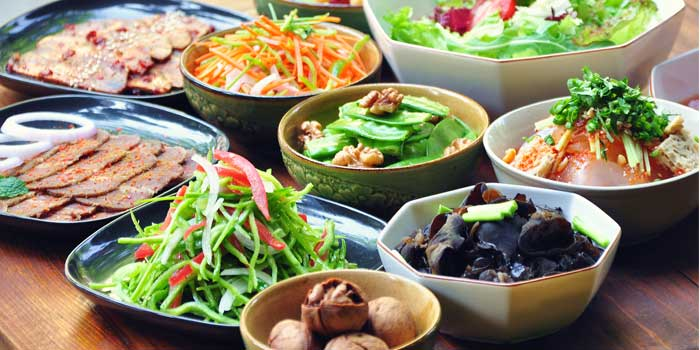 Cold Side Dishes from Spice Bazaar located in Luwan, Shanghai