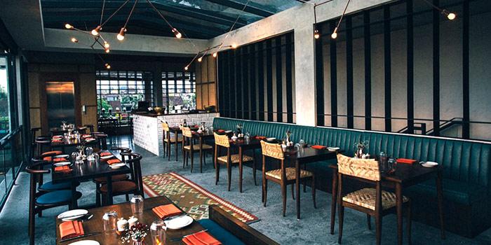 Interior of Copper Kitchen & Cafe in Ubud, Bali