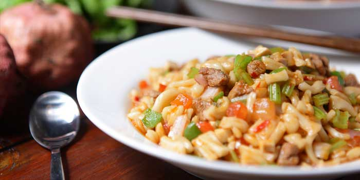 Ding Ding Fried Noodles from Spice Bazaar located in Luwan, Shanghai