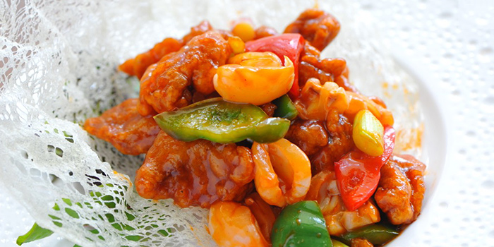 Sweet & Sour Pork from EMPRESS in City Hall, Singapore