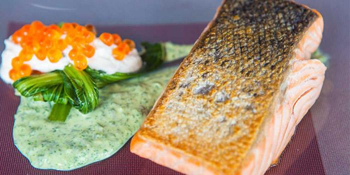 Salmon from El Kabron Spanish Restaurant & Cliff Club in Jimbaran, Bali