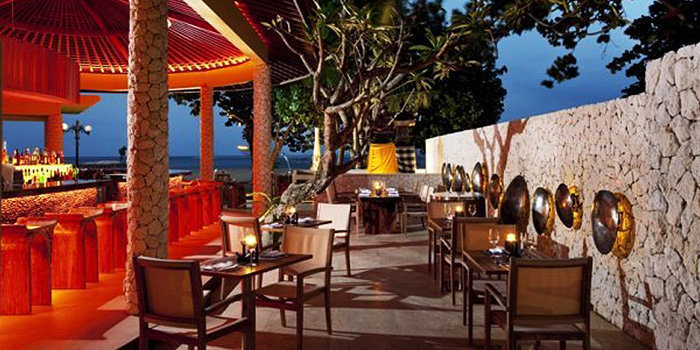 Bar Area of Envy in Kuta, Bali