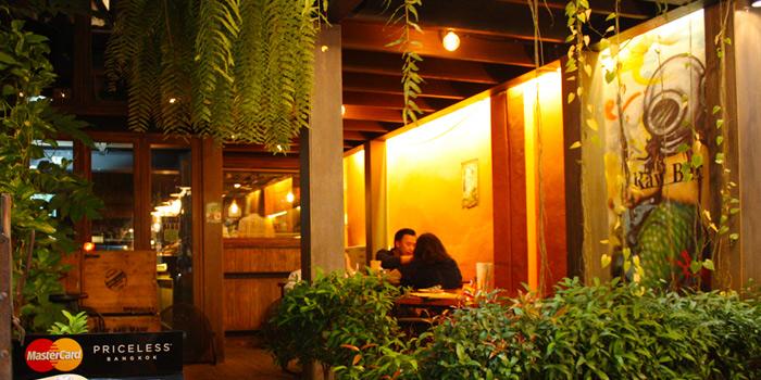 Exterior of The Raw Bar in Thonglor, Bangkok