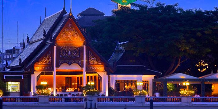 Exterior from Terrace Rim Naam at Mandarin Oriental, Bangkok