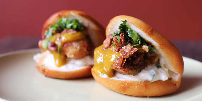 Soft Shell Crab Sliders from Fat Saigon Boy in Chinatown, Singapore