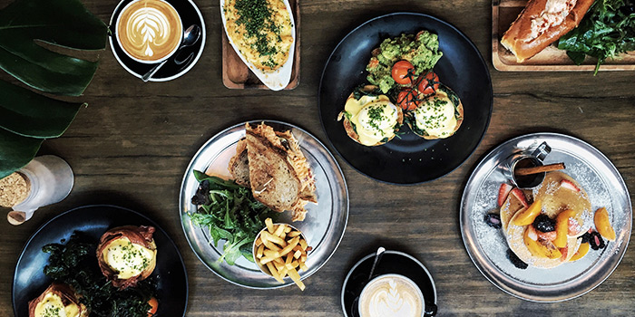 Food Spread from The Refinery in Jalan Besar, Singapore