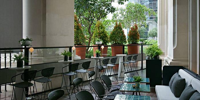 Outdoor Area of Gia in Surdirman, Jakarta