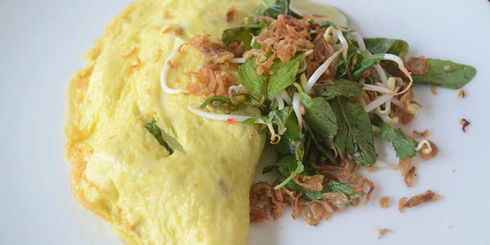 Omelette from Grain Espresso in Seminyak, Bali