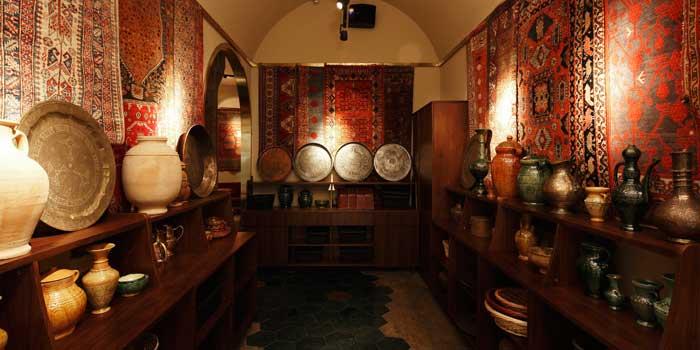 Interior of Spice Bazaar located in Luwan, Shanghai