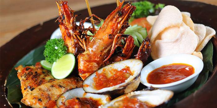 Grilled Seafood from Jerami in Seminyak, Bali