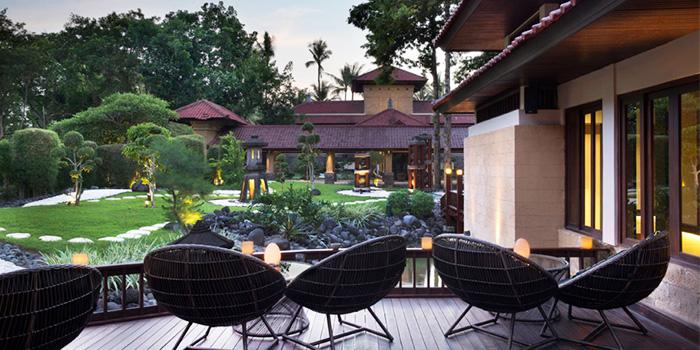 Deck Area of KO Japanese Restaurant in Jimbaran, Bali