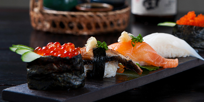 Sushi from Kajin in Seminyak, Bali