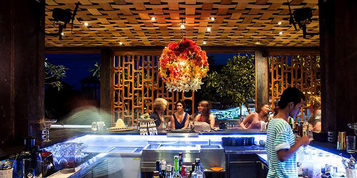 Bar Area of Lacalita Bar y Concina in Canggu, Bali