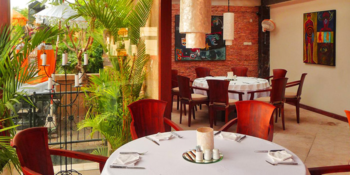 Interior of Lestari Grill & Pasta in Seminyak, Bali