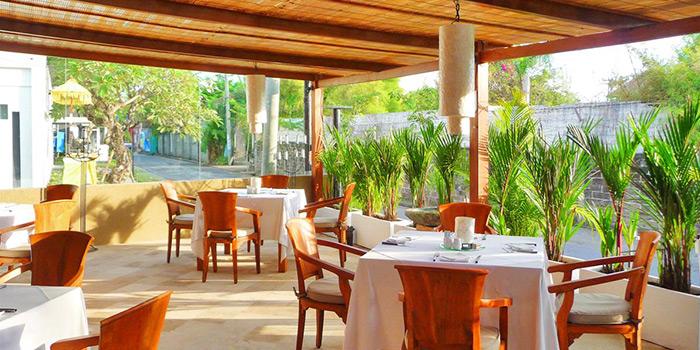 Outdoor Area of Lestari Grill & Pasta in Seminyak, Bali