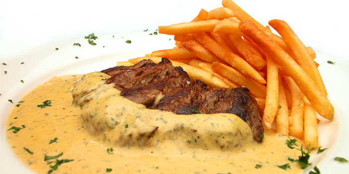 Steak from Lestari Grill & Pasta in Seminyak, Bali