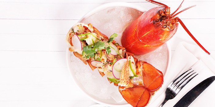 Lobster Ceviche, Bungalow, Lan Kwai Fong, Hong Kong