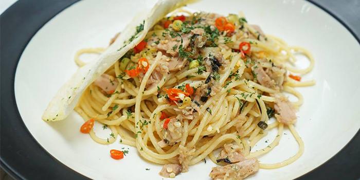 Garlic Tuna Aglio Olio from Odysseia in SCBD, Jakarta