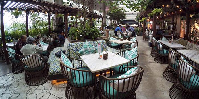 Interior of Odysseia in SCBD, Jakarta