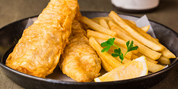 Fish & Chips from Oscar