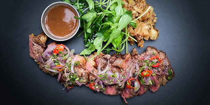 Steak & Chinchalok from REDPAN at Marina Square in Promenade, Singapore