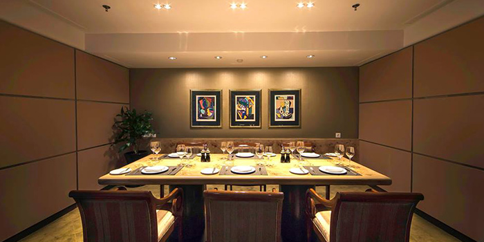Private Dining Room Riva Grill Bar & Terrace at The Park Lane Jakarta in Kuningan, Jakarta