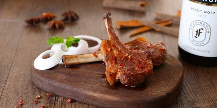 Roast Lamb Rack from Spice Bazaar located in Luwan, Shanghai