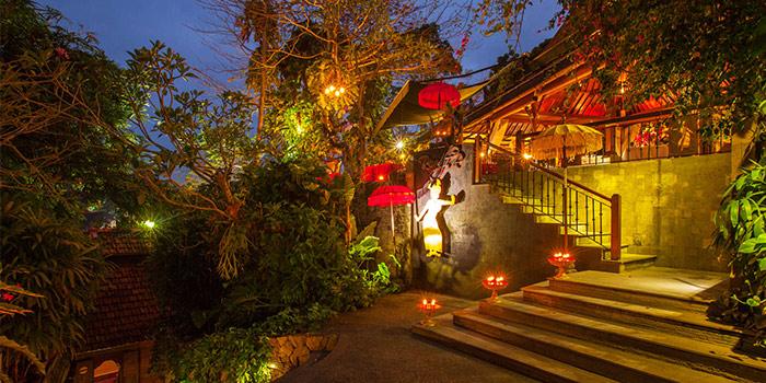 Exterior of Rondji Restaurant in Ubud, Bali