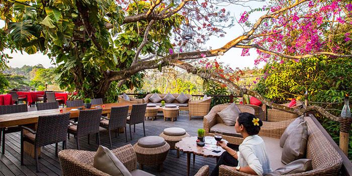 Outdoor Area of Rondji Restaurant in Ubud, Bali