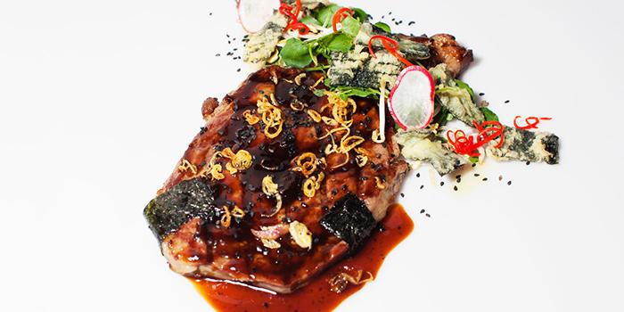 Steak from Rondji Restaurant in Ubud, Bali