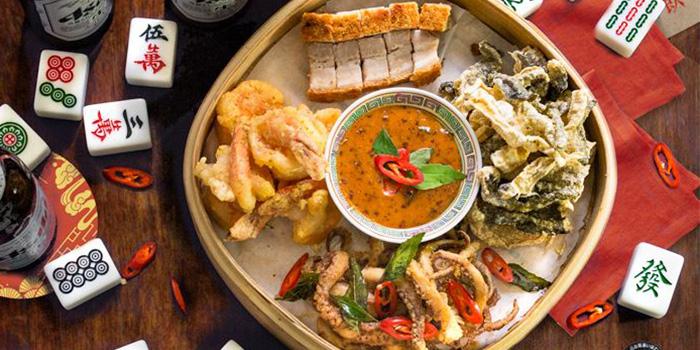Salted Egg Platter from Sum Yi Tai (Tapas Bar) in Raffles Place, Singapore