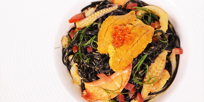 Seafood Spaghetti, Bungalow, Lan Kwai Fong, Hong Kong