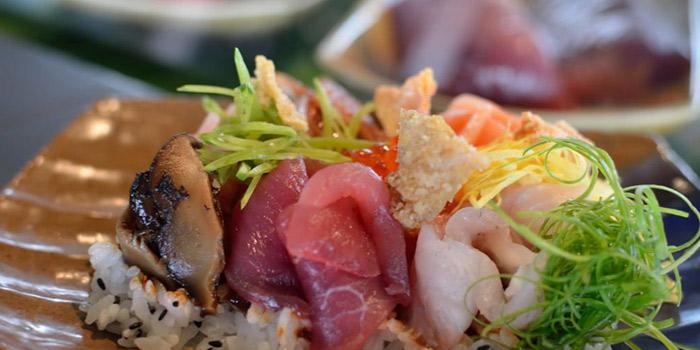 Sashimi from Skye Restaurant in Thamrin, Jakarta