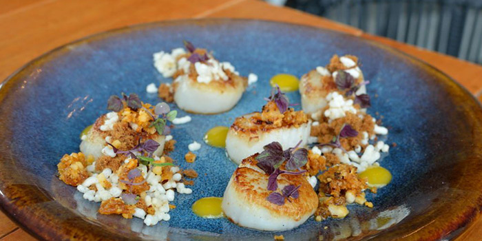 Seared Scallops from Skye Restaurant in Thamrin, Jakarta