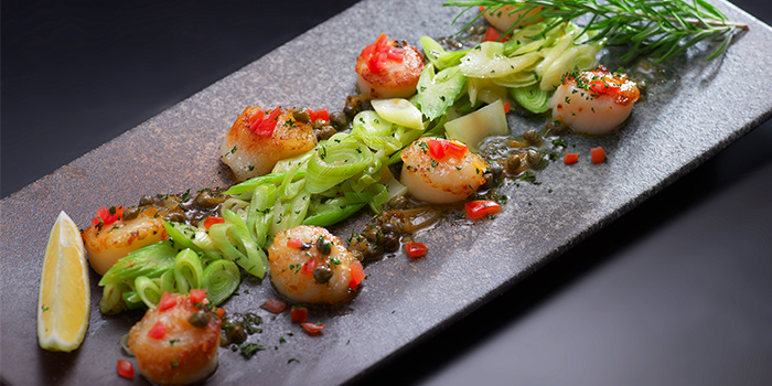 Australian Scallops from Spices Cafe in Concorde Hotel Singapore in Orchard, Singapore