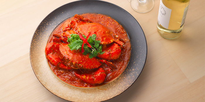 Chilli Crab from Spices Cafe in Concorde Hotel Singapore in Orchard, Singapore