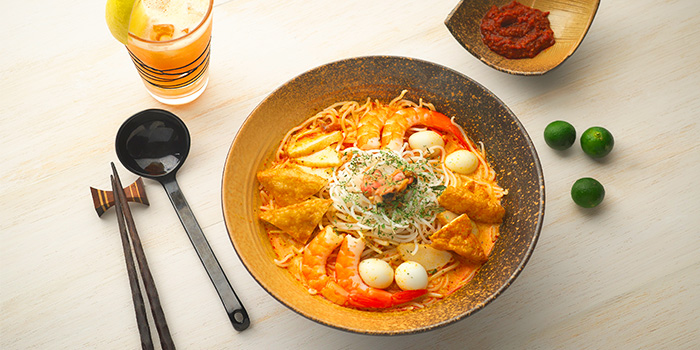 Laksa from Spices Cafe in Concorde Hotel Singapore in Orchard, Singapore