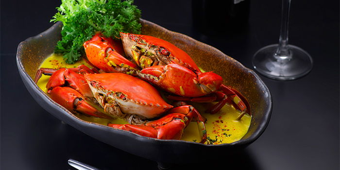 Saffron Crab from Spices Cafe in Concorde Hotel Singapore in Orchard, Singapore