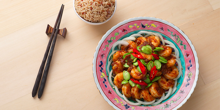 Udang Petai from Spices Cafe in Concorde Hotel Singapore in Orchard, Singapore