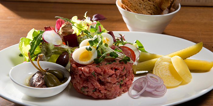 Steak Tartar, Orange Tree, LKF, Hong Kong