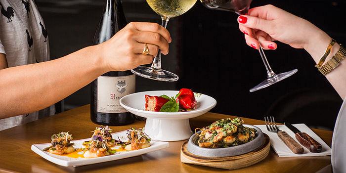 Wine and Sharing Plate, Comptoir, Kennedy Town, Hong Kong