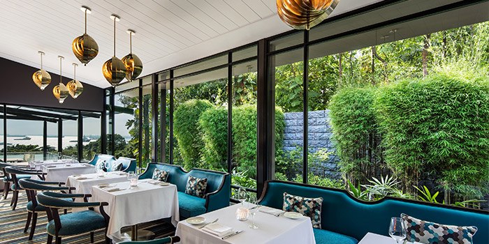 Indoor Dining at ilLido at the Cliff in Sentosa, Singapore