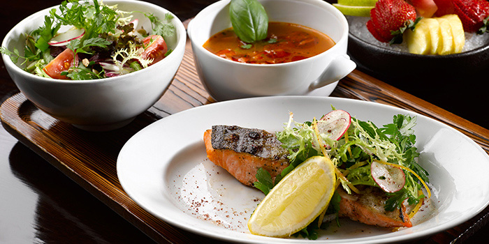 Healthy Set Menu from mezza9 in Grand Hyatt Singapore in Orchard, Singapore