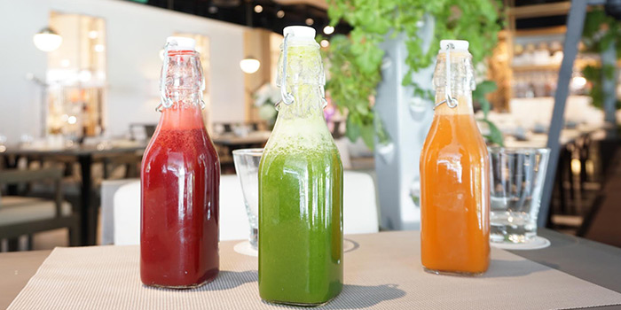 Juices from Angela May Food Chapters in Orchard, Singapore